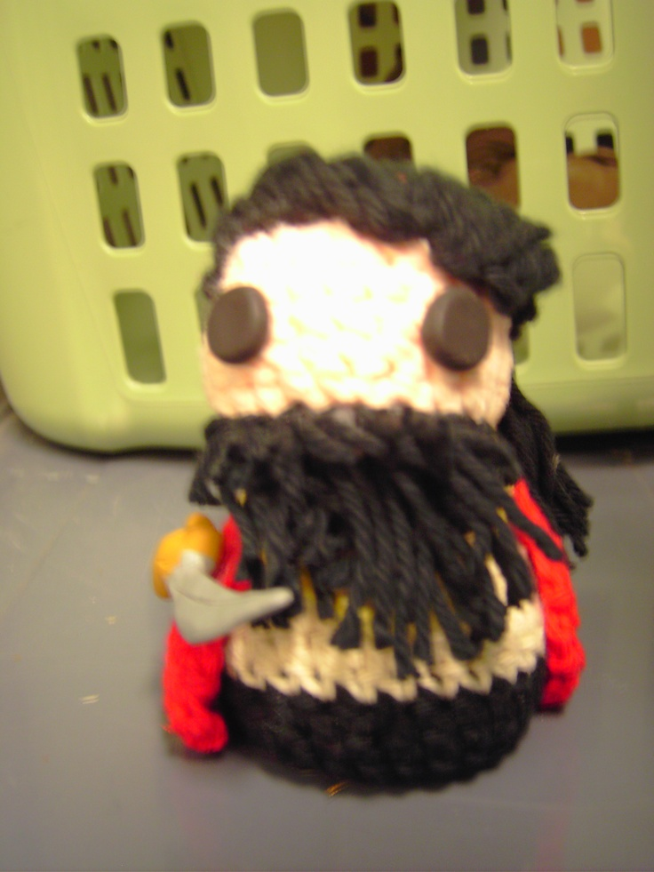 Crochet pirate of my own design!