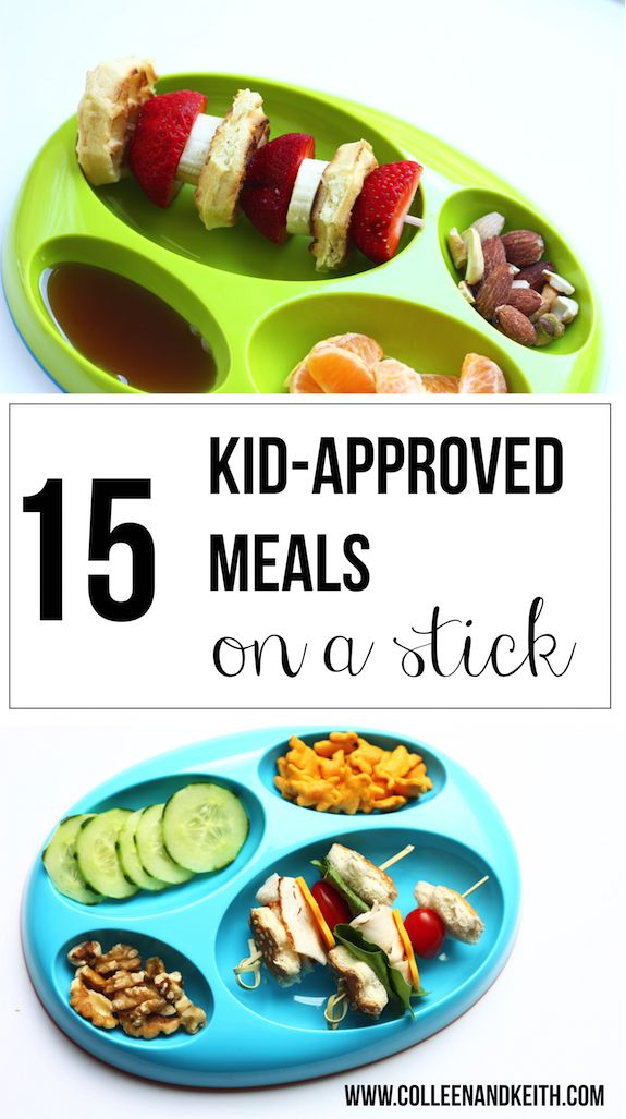 15 Kid-Approved Meals on a Stick