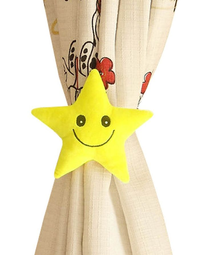 Curtains Rope Curtain Holder Tiebacks Holdbacks for Bedroom Living room (Star) , Yellow *** More info could be found at the image url. (This is an affiliate link and I receive a commission for the sales)