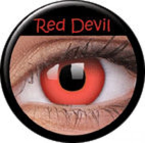 Red Devil Prescription Contact Lenses