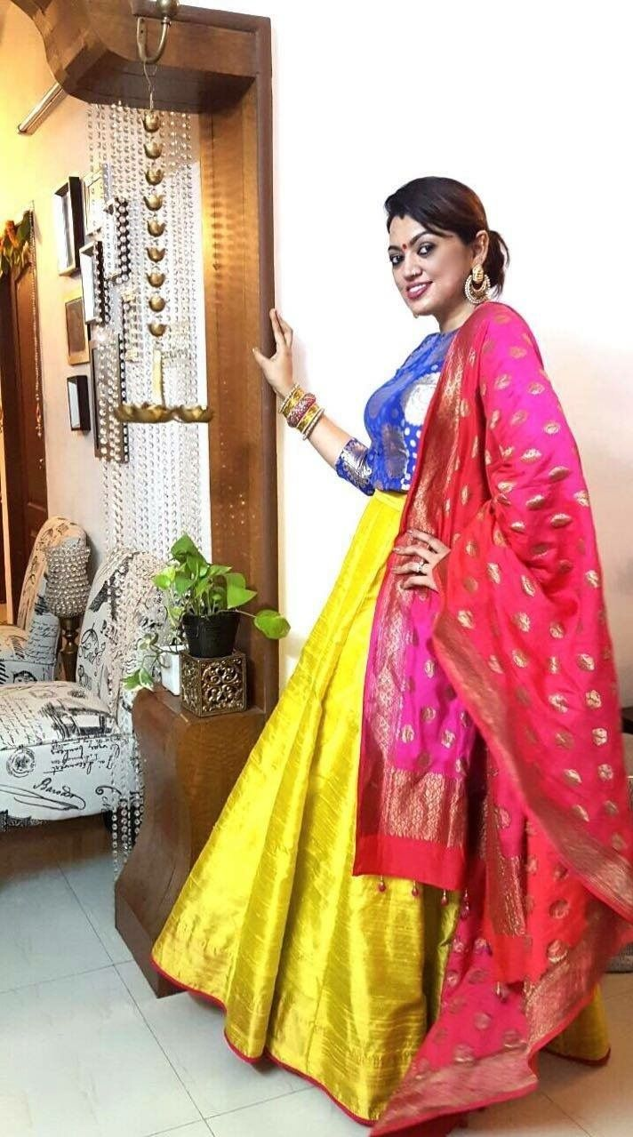how fun is this lengha! email sajsacouture@gmail.com to get yours!