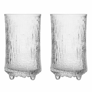 Iittala Ultima Thule Anniversary Beer Glasses (Set of 2) - Cheers! 2015 marks the 100th anniversary since Tapio Wirkkala's birth, and this set of two beer glasses is the perfect commemoration and celebration of his life and works.