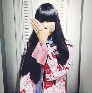 Susie Lau aka Susiebubble is wearing our Crystallised Palm Bangle