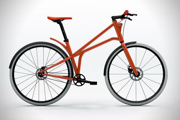 concepto de bicicleta urbana