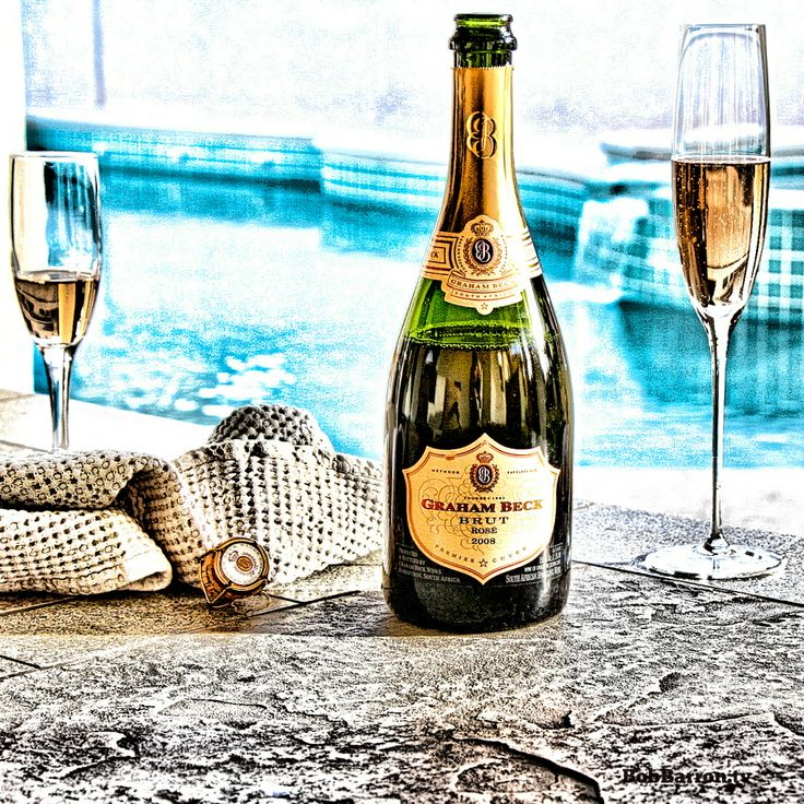 Graham Beck Brut Rosé delicious red berry fruit dances on your palate with an elegant creamy mousse. 80% Pinot Noir 20% Chardonnay - Sparkling #wine from vineyards located in Robertson and #Stellenbosch, West Cape, South Africa #bubbly #sparklingwine #champagne #SouthAfricanwines #delectable