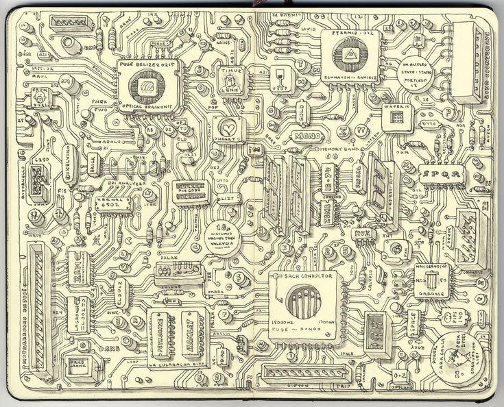 Analog motherboard by *MattiasA on deviantART