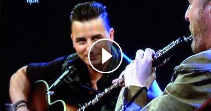 """Andreas Gabalier und Paddy Kelly """" I'm sailing"""" live in der NDR Talkshow 15.5.2015, ich finde es einen gelungen Auftritt (Länge: 02:19)"""