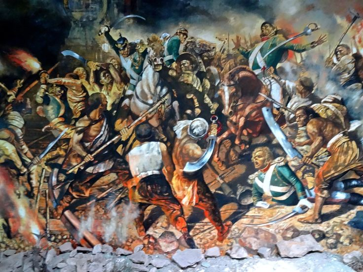 Charge of the German cavalry against Chinese Boxer rebels, Boxer's Rebellion, China