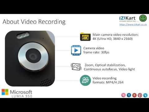 Microsoft Lumia 950 Specifications & feature Review by IZIKart