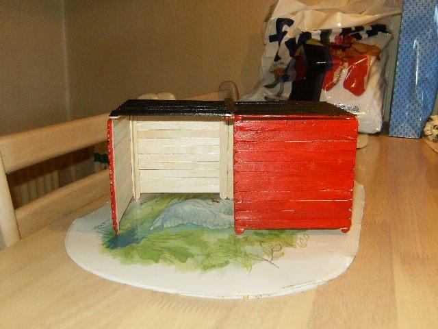 A house built for my hedge hog Valdemar.