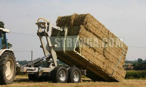 Hooklift Trailer in agriculture