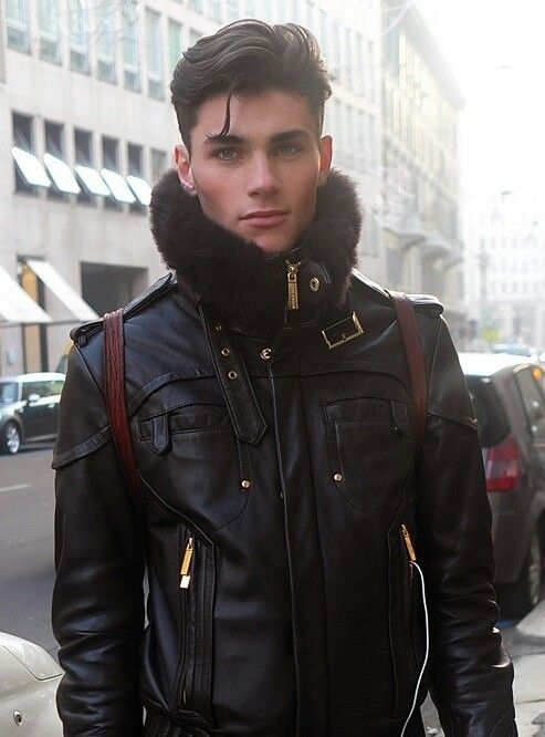 Shaun white leather jacket