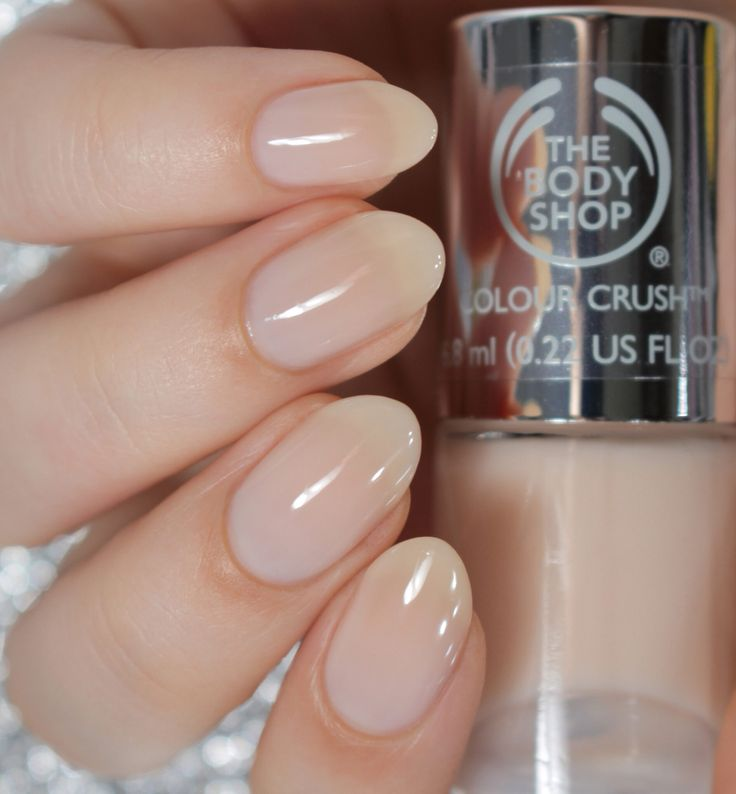 Pink Cream | The Body Shop Colour Crush Nails Collection |