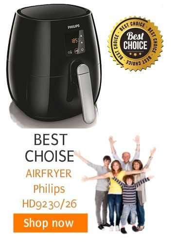 Philips Airfryer HD9220 & HD9230 Recipe Book - Philips Air Fryer Review