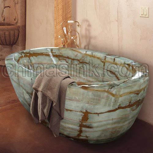 oynx bathroom Designs | Stone Bathtubs, Stone Toilets and Stone Fixtures