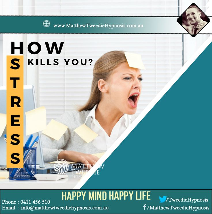 Chronic stress disrupts nearly every system in your body. It can raise blood pressure, suppress the immune system, increase the risk of heart attack and stroke, contribute to infertility, and speed up the aging process. Long-term stress can even rewire the brain, leaving you more vulnerable to anxiety and depression. Stress relief hypnosis can radically improve your day – and your life visit for more info http://matthewtweediehypnosis.com.au/hypnotherapy-depression-adelaide/