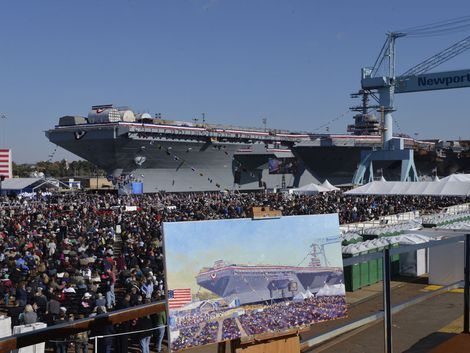 The USS Gerald R. Ford (CVN 78) is the most technologically advanced warship ever built. - Page 11
