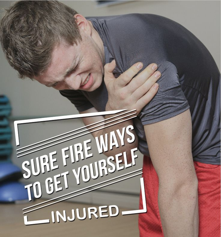 Most of the injuries you get training are, quite frankly, completely avoidable. Here's how to prevent injury and what to do about it. #exercise #weightloss #gym #bodybuilding