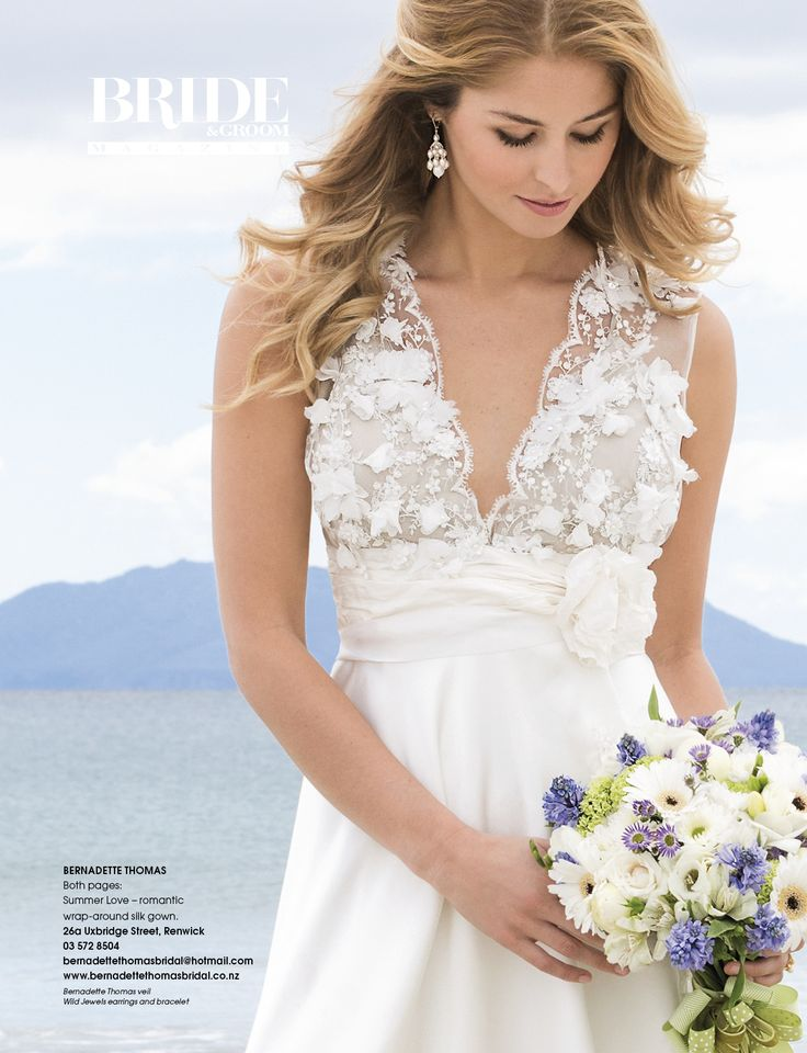 Wild Jewels Princess Earrings as featured in the Summer Romance Edition of Bride & Groom!