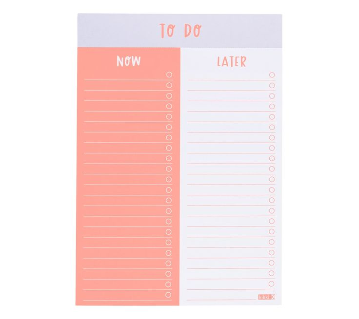 I'm neon in real life! Keep your tasks organised and stay on top of your to-do list in style with this super cute A5 To-Do List Pad. Tick off tasks as you go, and feel the joy of accomplishment. Featuring a fun neon print, this To-Do List Pad is the perfect way to add some colour and fun into your everyday stationery set.
