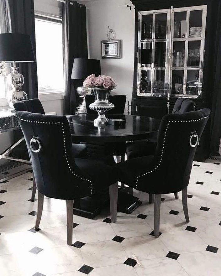 Best Furniture Logo Design Black Dining Room Apartment Decor
