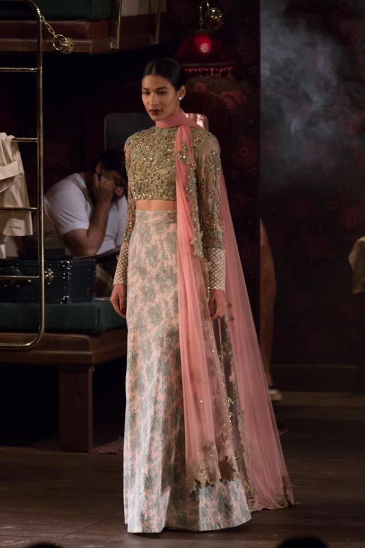 Lengha by Sabyasachi at ICW 2014