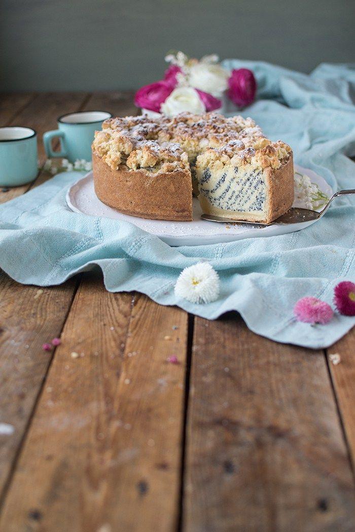 joghurtmohnkuchen frohe ostern  rezept  mohnkuchen
