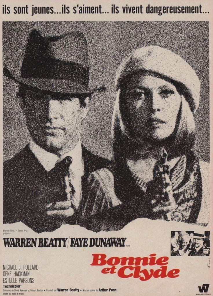 Постер к фильму «Bonnie and Clyde / Бонни и Клайд (1967)» смотреть онлайн