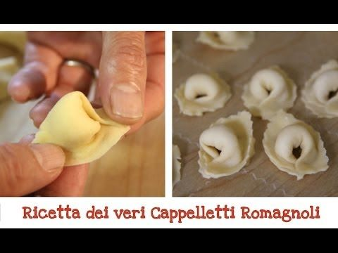 Tortellini - Come prepararli in Casa - YouTube