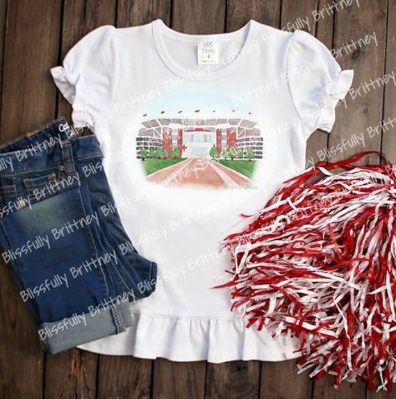 Watercolor Bryant Denney Kids Shirt Alabama Football Shirt