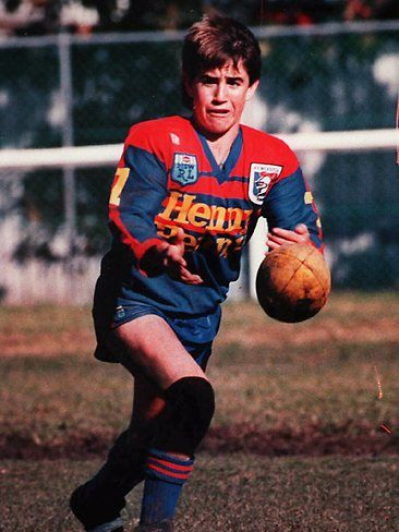 Andrew Johns began playing junior rugby league in his home town of Cessnock, New South Wales. At an early age it was evident that Andrew Johns had plenty of playing ability and he joined the Newcastle Knights junior ranks at age 15 in 1989.