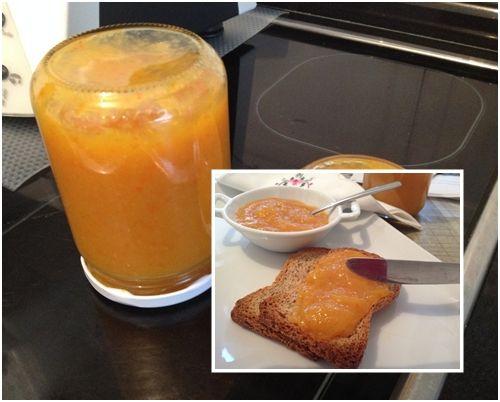 Mermelada de naranja con agar agar (quitar tagatosa y poner miel)