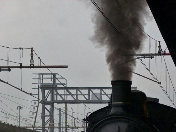 Riparte la vecchia locomotiva a vapore. A Bologna.