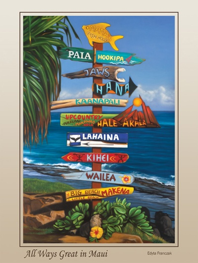 Maui Sign