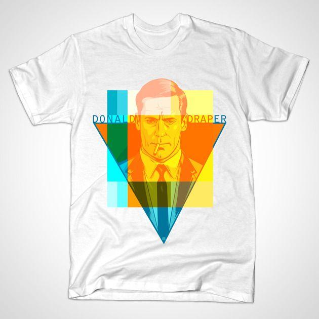 MAD MEN - Don Draper (white)