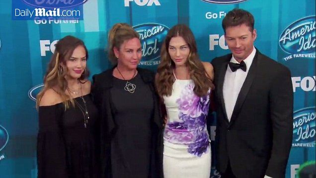 American Idol judge Harry Connick Jr. brings his family to series finale   Daily Mail Online