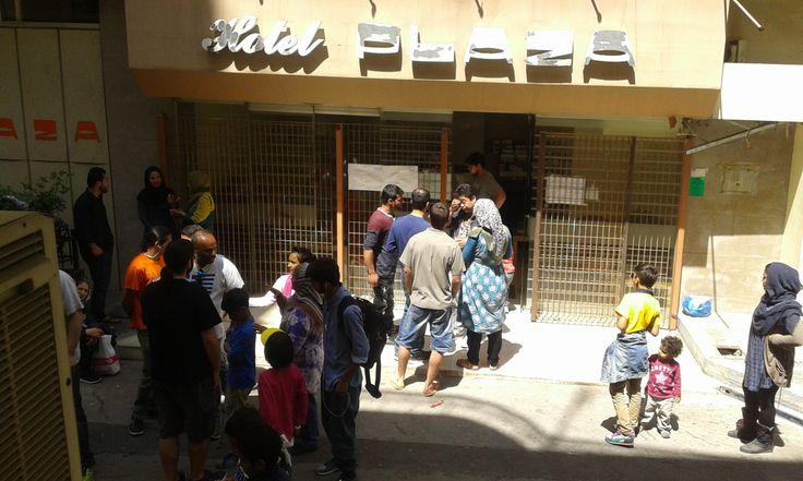 Κατάληψη City Plaza: ένα διαφορετικό παράδειγμα φιλοξενείας προσφύγων και μεταναστών, σε αντιδιαστολή με το ντροπιαστικό παράδειγμα στατοπεδικού εγκλεισμού των Hot-Spot