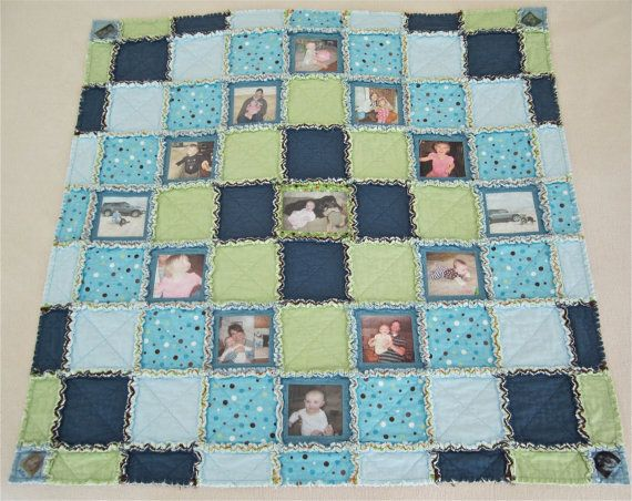 18 best 50th Anniversary Ideas images on Pinterest | At home ... : memory rag quilts - Adamdwight.com