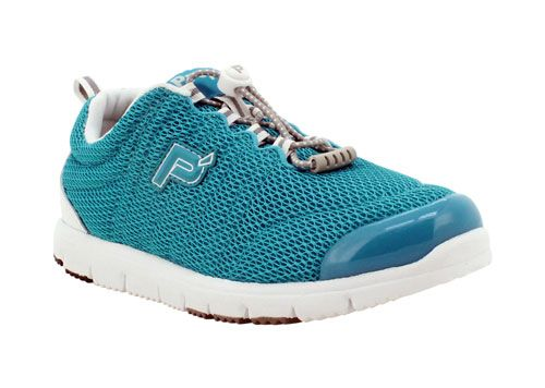 Propet Travel Walker Shoes for Women: Turquoise