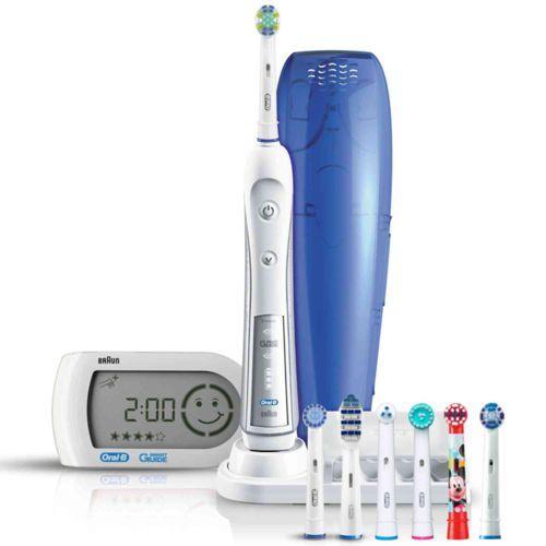 Najlepsza szczoteczka elektryczna do zębów: http://www.shop-dent.pl/pl_PL/p/NOWOSC-Oral-B-Triumph-5000-Szczoteczka-Elektryczna-z-7-koncowkami-wersja-z-koncowka-TRIZONE-D34.575.5X-/1763