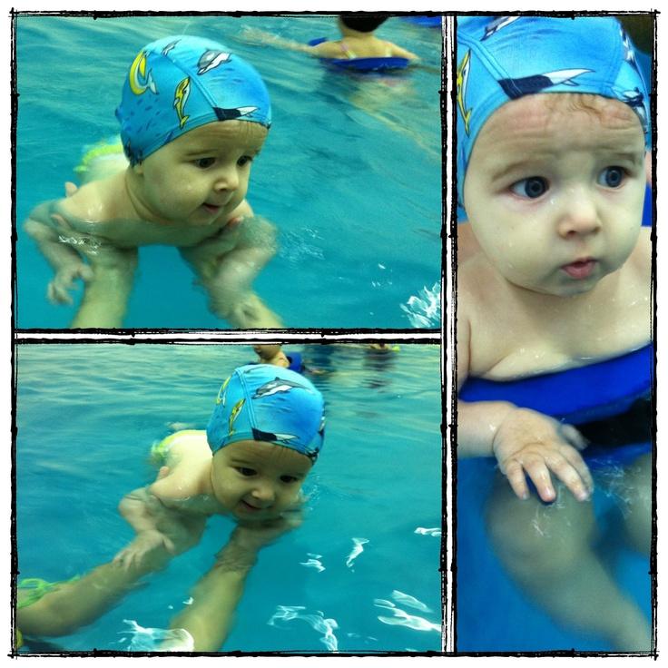 Little swimmer!