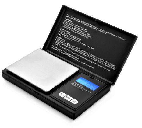 Portable Digital Pocket Scale LCD Display Handheld Weighing Scales 200g Limit  | eBay