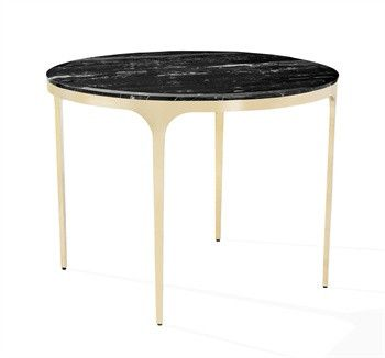 Camilla Nero Storm Center Dining Table design by Interlude Home