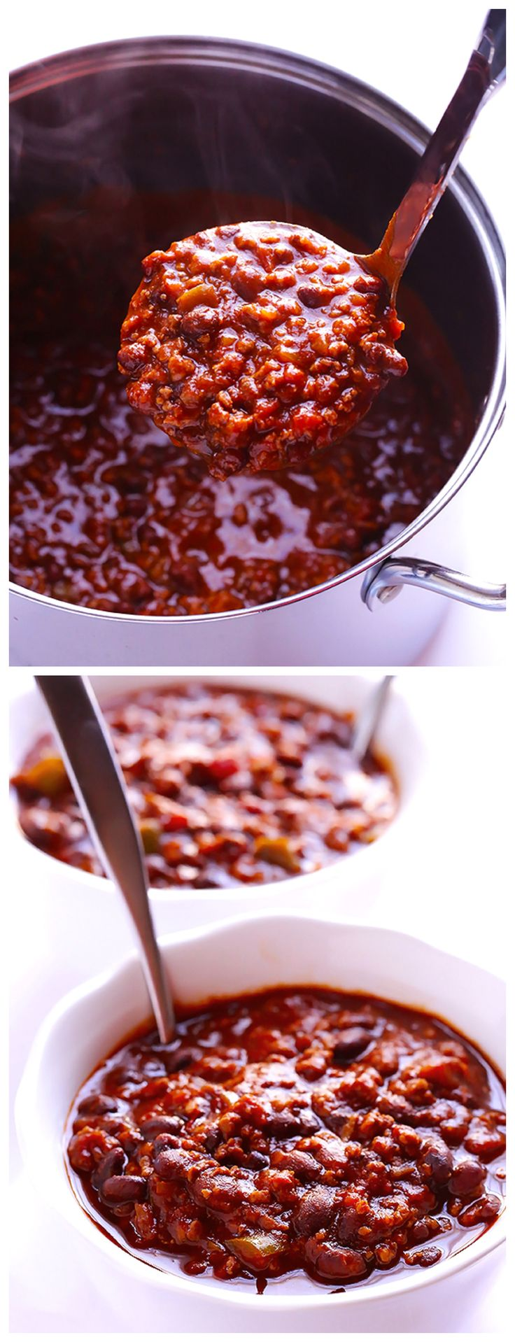5 Ingredient Chili: no one will ever guess this simple recipe has just five ingredients | gimmesomeoven.com