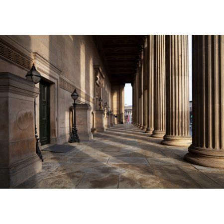 St Georges Hall Liverpool Merseyside England Canvas Art - Panoramic Images (25 x 36)