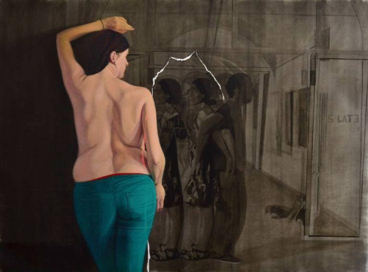 "Saatchi Art Artist Emanuel-Alexandru Gliga; Painting, ""Separation"" #art"