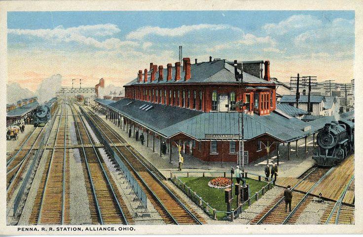 Vintage Canton Ohio Google Search Railroad Station