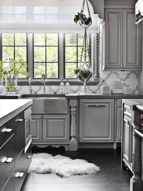 interior design of kitchen room. Glam meets grit inside a suburban Chicago home  PROjECT Interiors kept the traditional bones but 1003 best Kitchens We Love images on Pinterest Kitchen designs