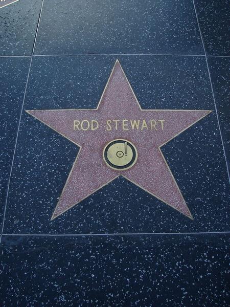 Rod Stewart's star