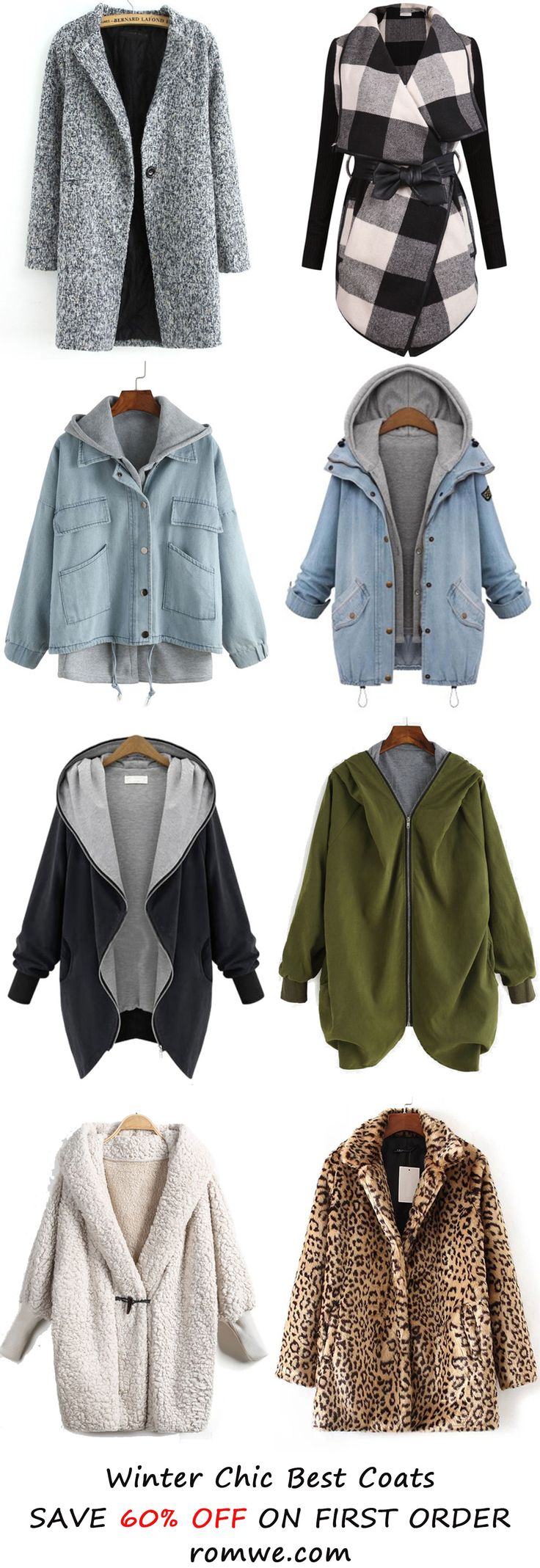 Fall & Winter Coats Collection from romwe.com